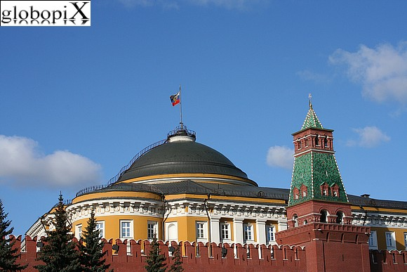 Moscow - Red Square - Kremlin's wall