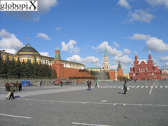 Moscow - Red Square - Lenin's Mausoleum