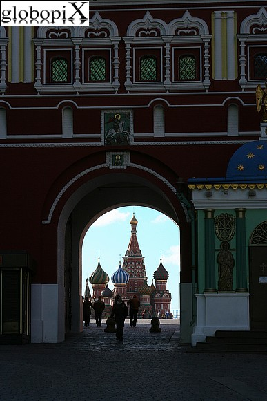 Moscow - Red Square - Resurrection gate