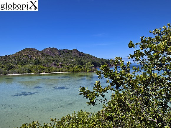 Seychelles - Panorama di Curieuse island