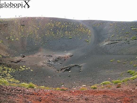 Etna - Ancient crater on Etna