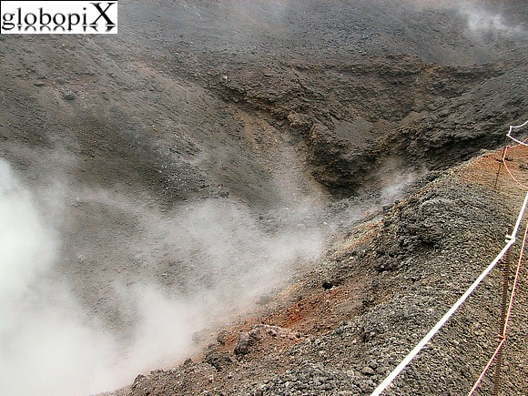 Etna - Fumaroles on Etna