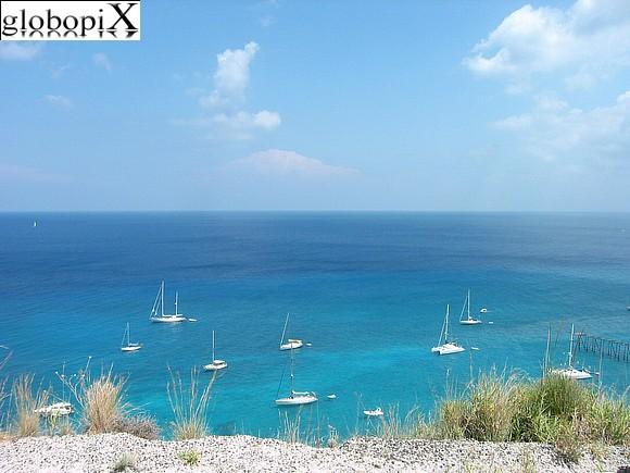 Il mare Bandiera Blu di Lipari
