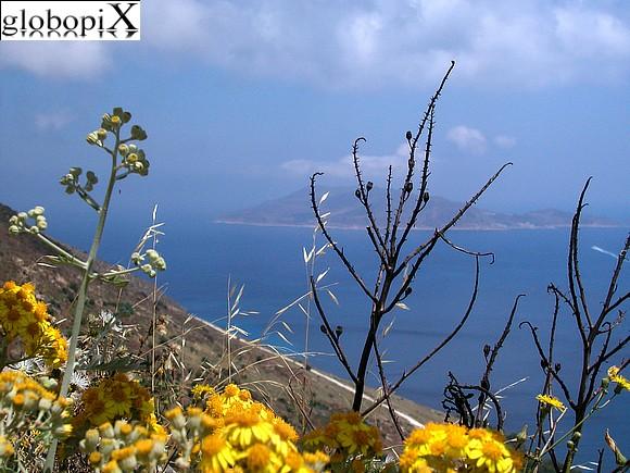 Panorama dal Monte S. Caterina - Favignana