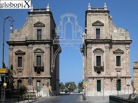 Foto palermo porta felice globopix - Porte a palermo ...