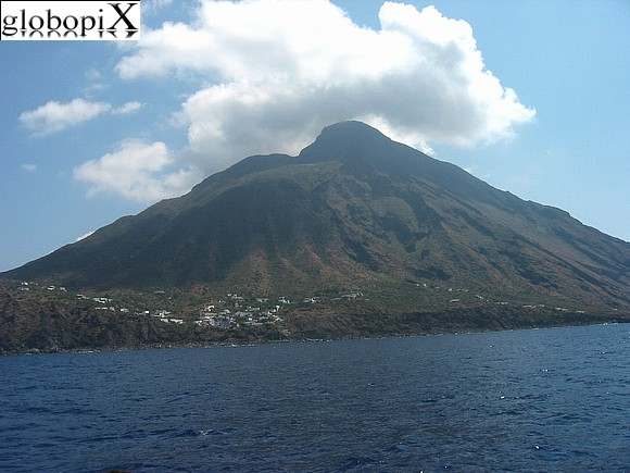 Isole Eolie - Stromboli view