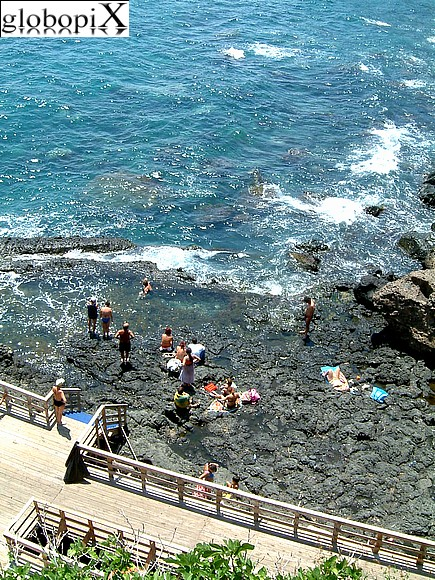 Aci Castello - The beach of Aci Castello