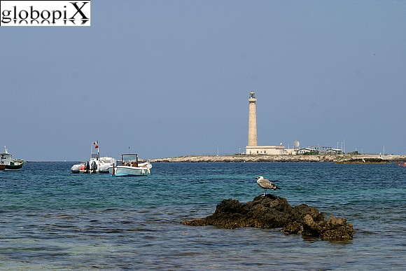 Isole Egadi - The lighthouse of Punta Sottile