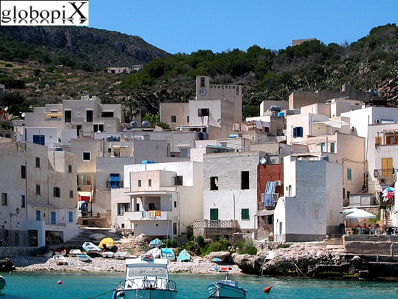 Isole Egadi - Village of Levanzo