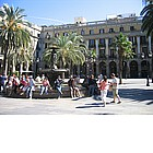 Photo: Placa e Palacio Reial
