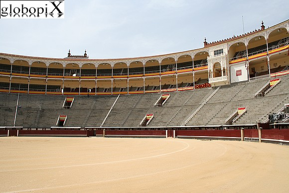 Madrid - Interno della Plaza de Toros di Madrid