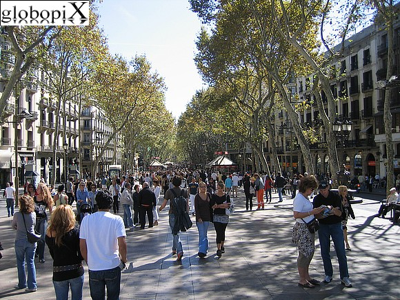 Foto barcellona las ramblas globopix for Ramblas barcellona