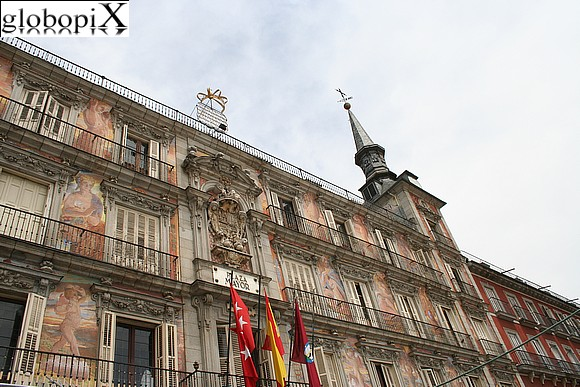 Madrid - Plaza Mayor - Casa de la Panaderìa
