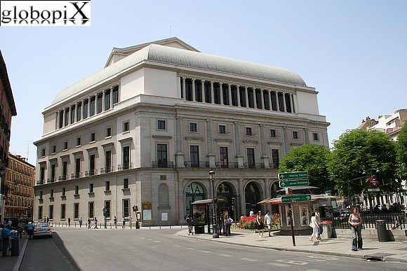 Madrid - Teatro Real di Madrid