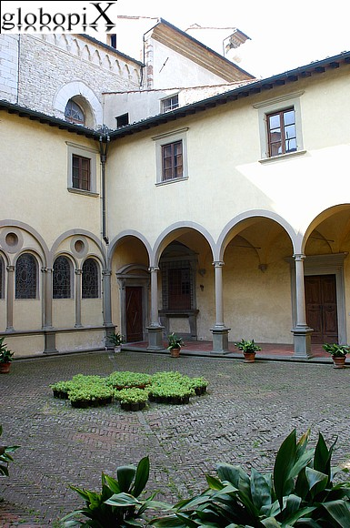 Dintorni di Firenze - Cloister of the Certosa