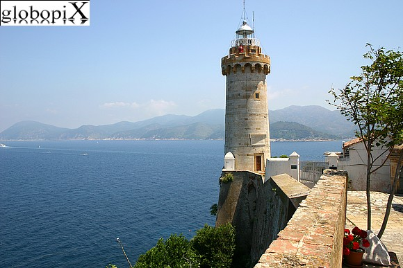 Isola d'Elba - Lighthouse of Forte Stella