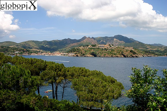Isola d'Elba - Panorama from Forte Focardo