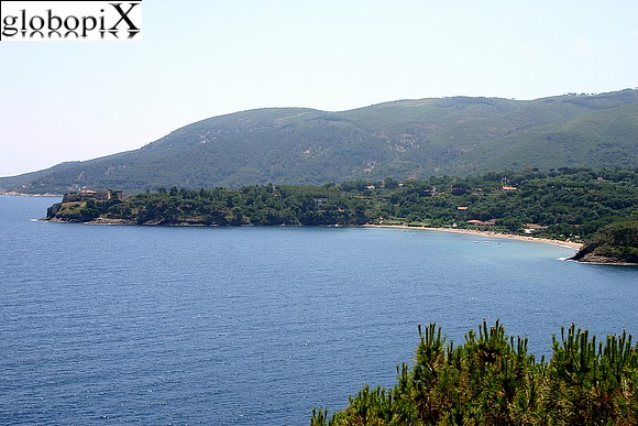 Isola d'Elba - Panorama from Fortezza Stellare