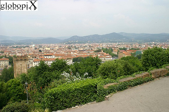 Florence - Panorama from Piazzale Michelangelo