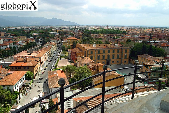Pisa - Panorama from the Leaning Tower