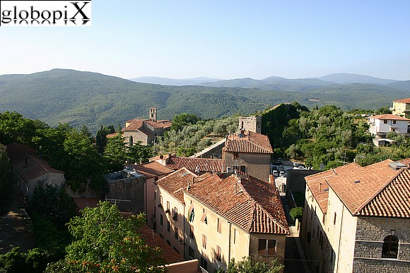 Massa Marittima - Panorama from Torre del Candeliere