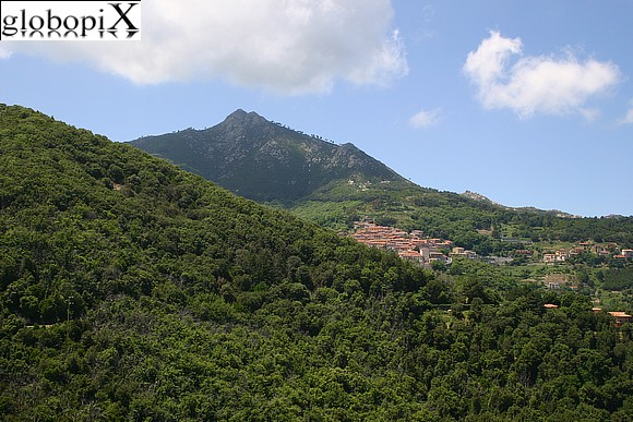 Isola d'Elba - Panorama dal paese