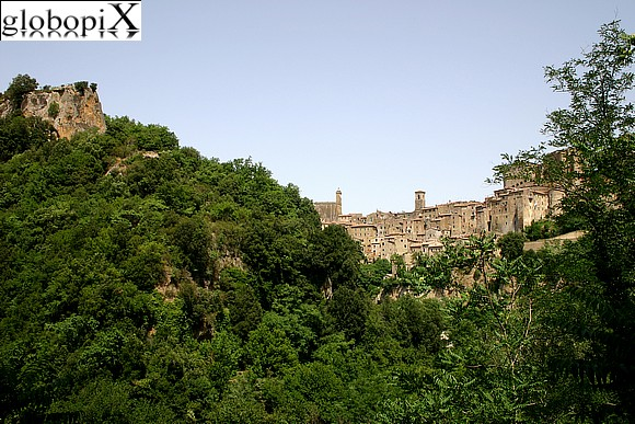 Pitigliano - Panorama of Sorano