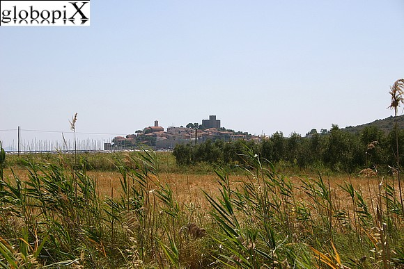 Maremma - Panorama of Talamone