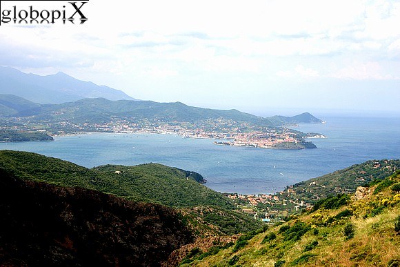 Isola d'Elba - Panorama of the Golfo di Portoferraio