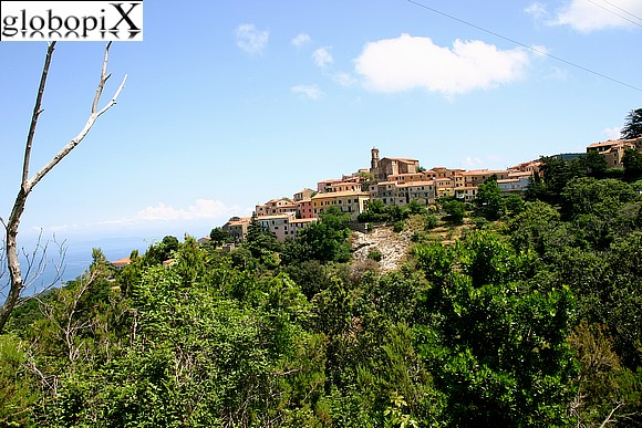 Isola d'Elba - Panorama of the town