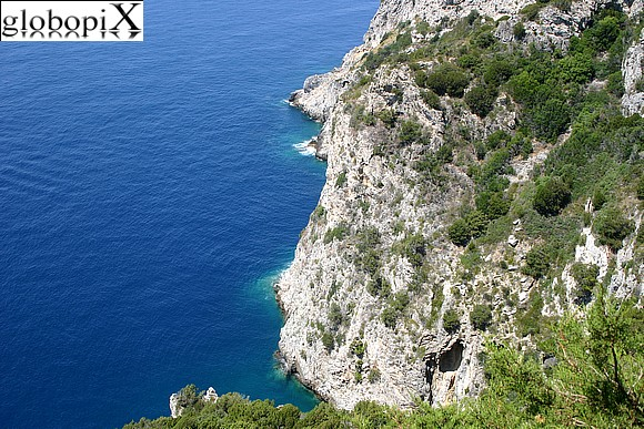 Argentario - Scenic road to Cala Piccola