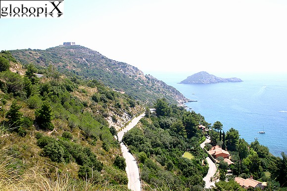 Argentario - South Eastern Coast and Forte Filippo