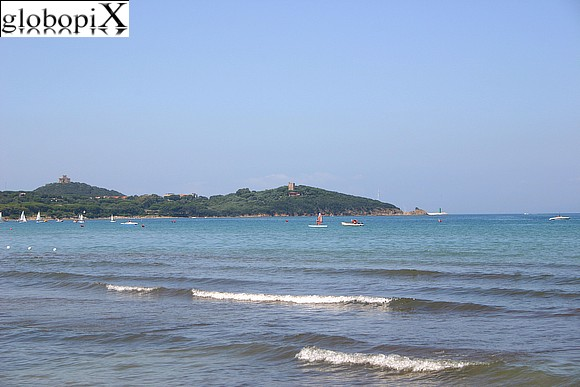 Maremma - The beaches and promontory of Punta Ala