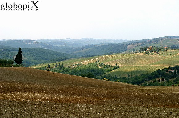 Il Chianti - Views of the Chianti.