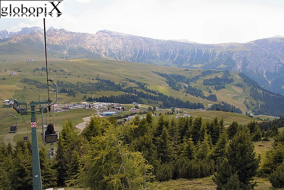 Dolomiti - Bullaccia chair lift