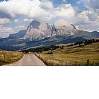 Photo: Alpe di Siusi and Sassolungo