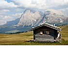 Photo: Malga on the Alpe di Siusi