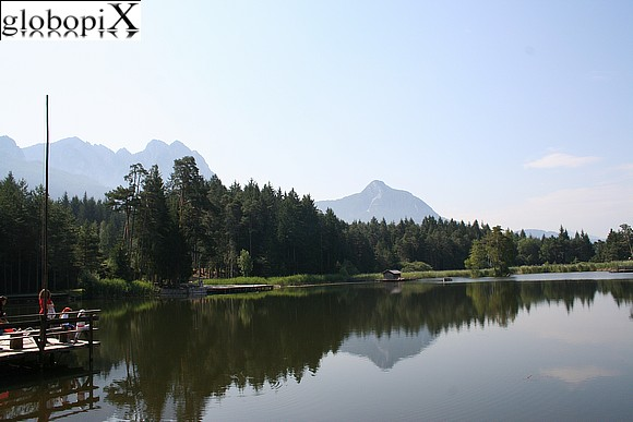 Dolomiti - Small lake of  Fiè
