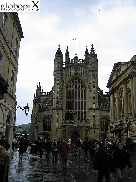 Stone Henge - Bath cathedral