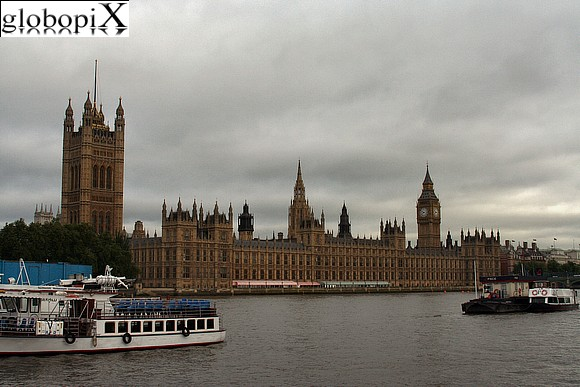 Foto londra palazzo di westminster parlamento globopix for Le due camere del parlamento