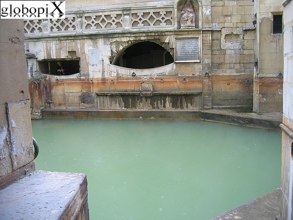 Stone Henge - Romans baths - The King's Bath