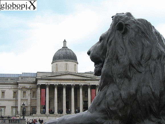 Londra - Trafalgar Square - National Gallery