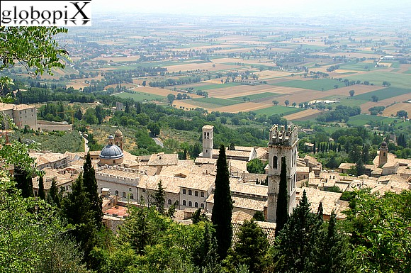 Assisi - Panorama of Assisi