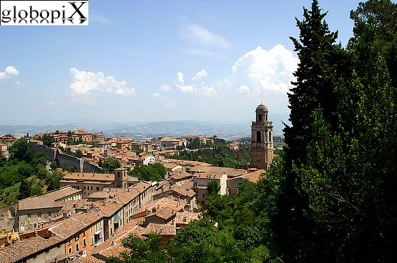 Perugia - Panorama of Perugia