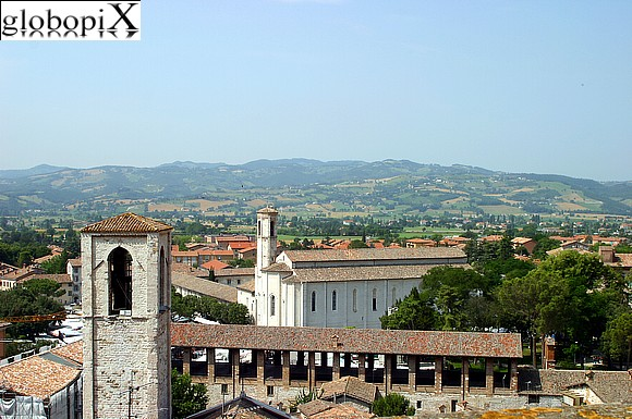 Gubbio - View from Piazza Grande