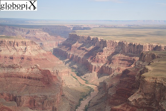 Grand Canyon - Fiume Colorado nel Grand Canyon