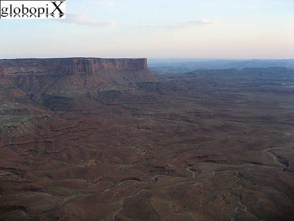 Canyonlands - Gran River Overlook