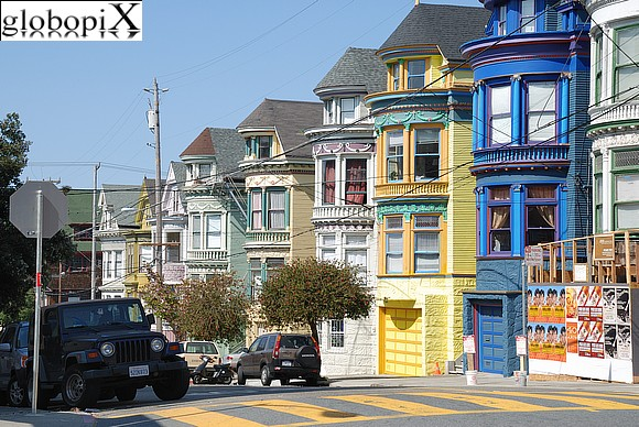 San Francisco - Haight-Ashbury