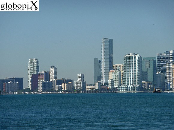 Miami Beach - Miami skyline