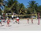 Foto: Beach Volley a Miami South Beach